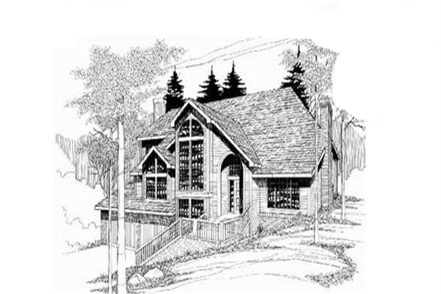 Main image for house plan # 2614