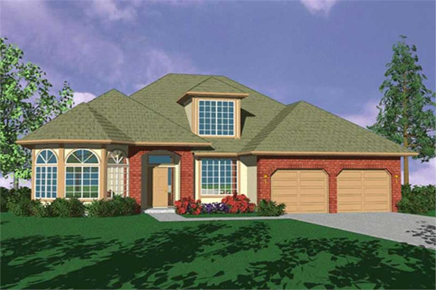 Main image for house plan # 2481