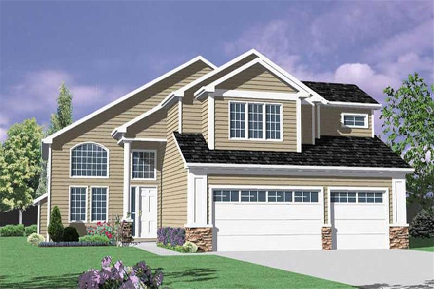 Main image for house plan # 2478