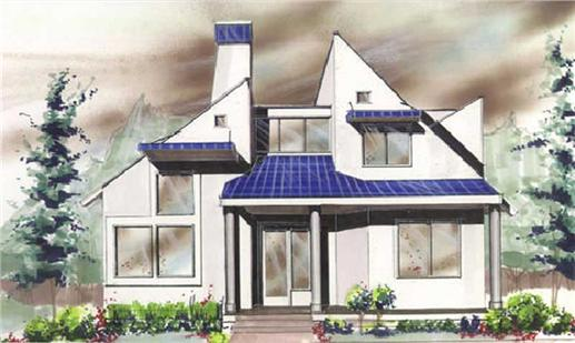 Main image for house plan # 4250
