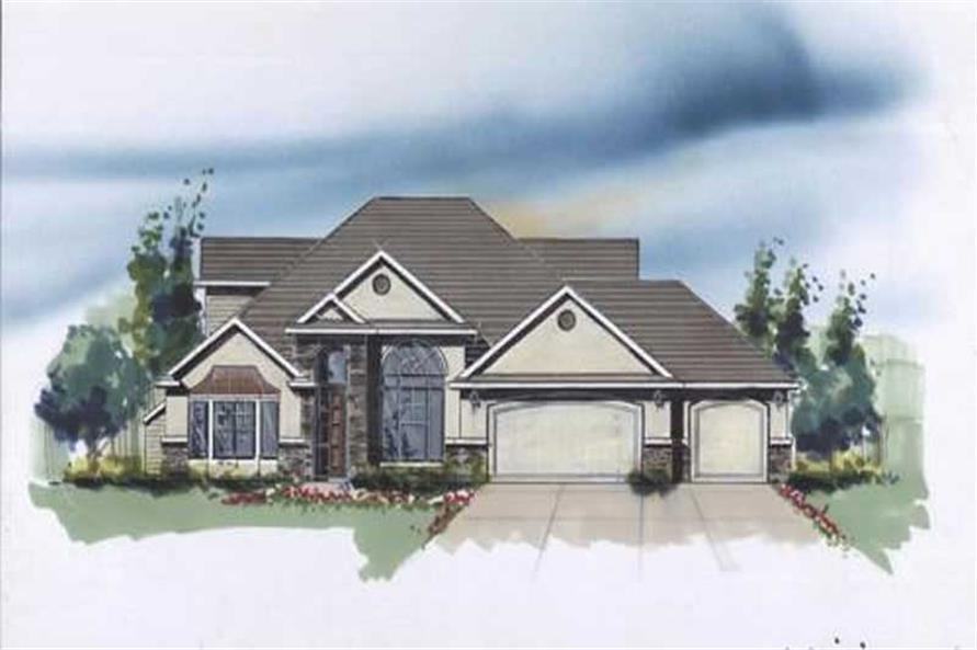 Main image for house plan # 2513