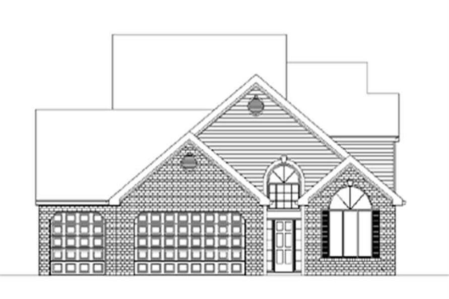 Main image for house plan # 2467