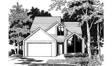 Main image for house plan # 2466