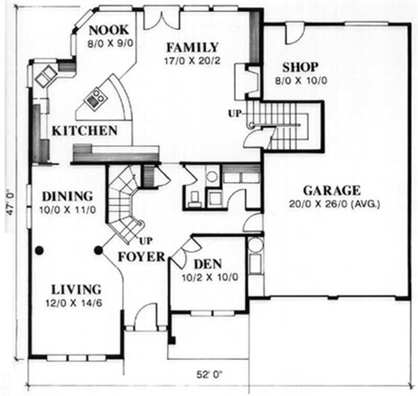 Feng Shui House Plan Layout http://www.theplancollection.com/house-plans/home-plan-2463