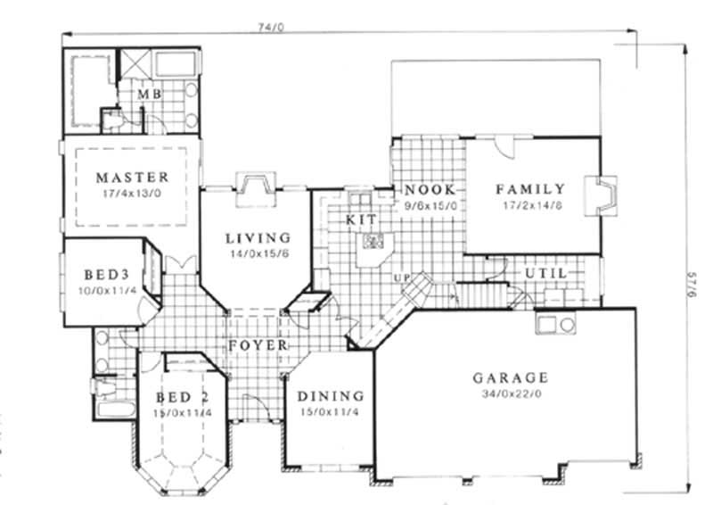 Feng shui house plans home design m 2726 2462 for Good house plans and designs