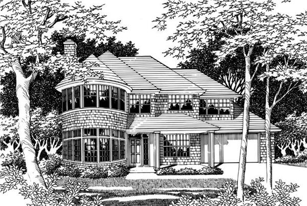 Main image for house plan # 2470