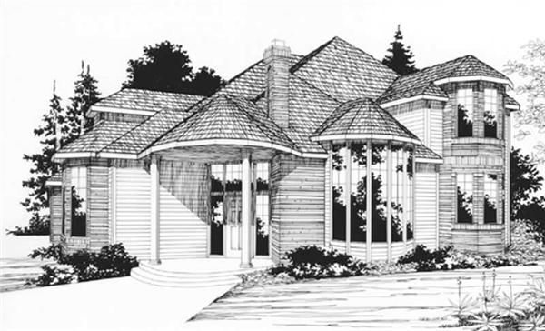 Main image for house plan # 2515