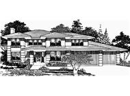 Main image for Prairie house plan # 2457