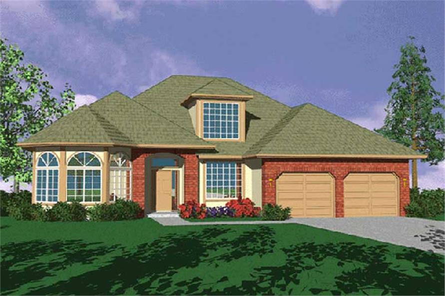 Main image for house plan # 2456