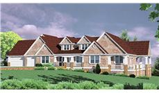 Main image for country house plans # 2360