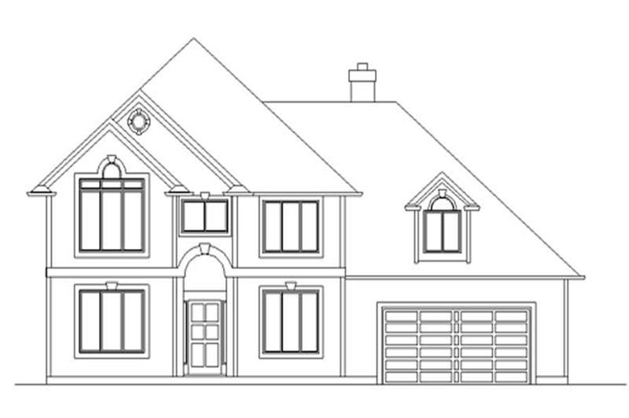 Main image for house plan # 2532