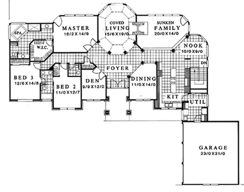 Main Floor Plan ms2860