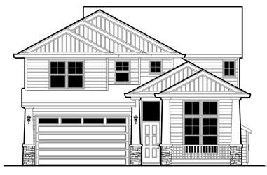 4-Bedroom, 2438 Sq Ft Ranch Home Plan - 149-1603 - Main Exterior