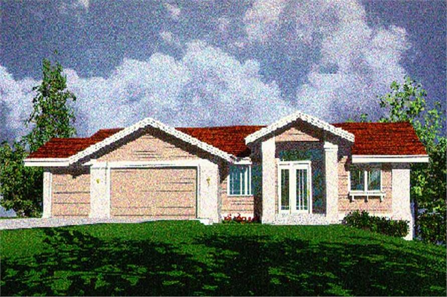 Main image for house plan # 2474