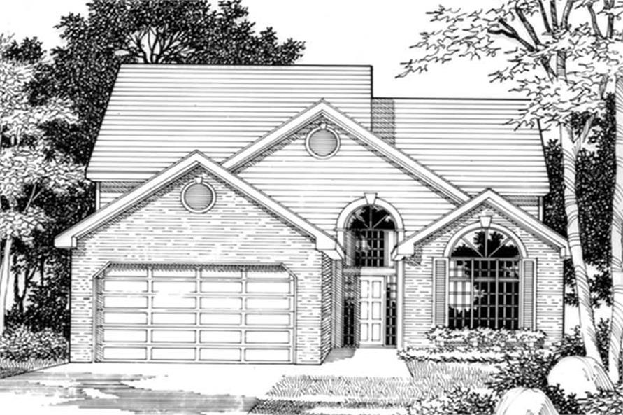 Main image for house plan # 2468