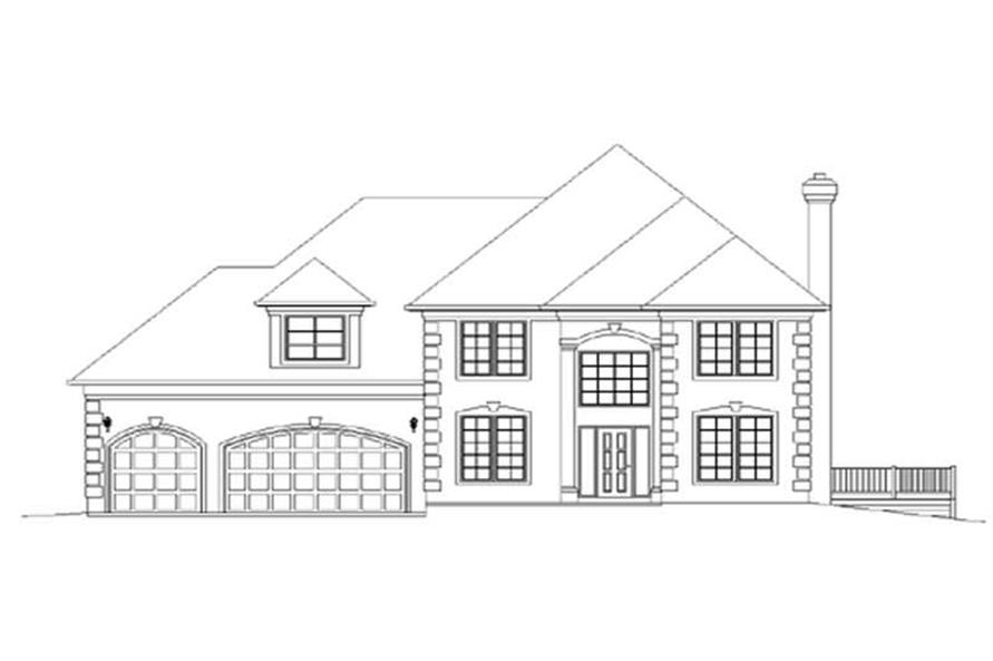 Main image for house plan # 2355