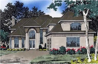 Main image for luxury house plan # 2358