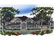 Main image for country house plans # 2359