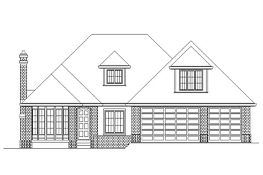 Main image for house plan # 2511