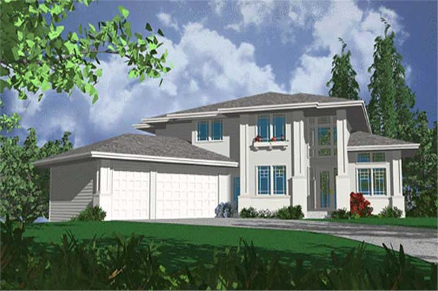 Main image for house plan # 2342