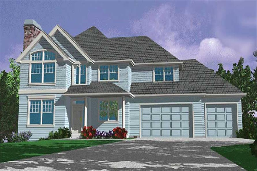 Main image for house plan # 149-1621