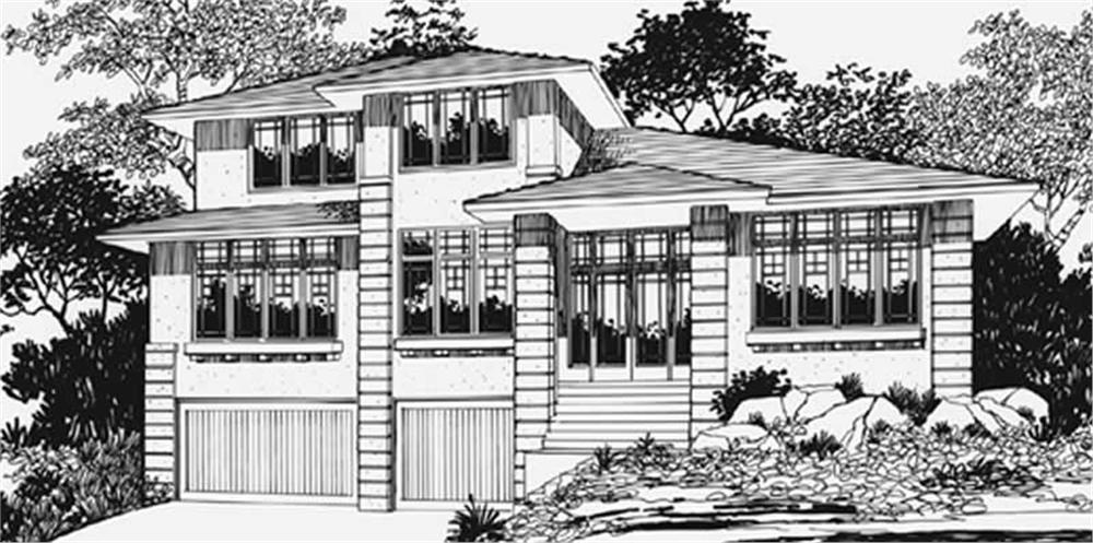 Main image for house plan # 2612