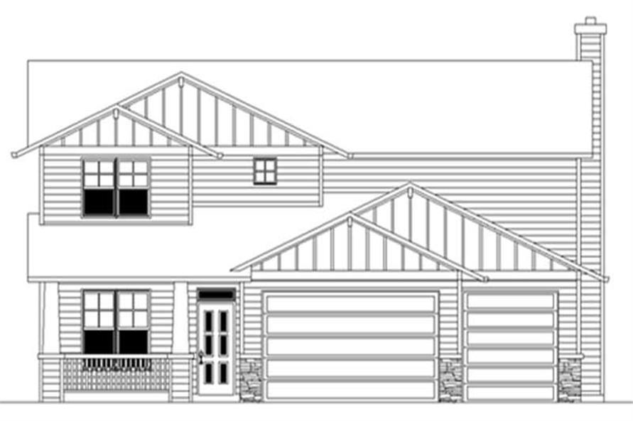 Main image for house plan # 2611