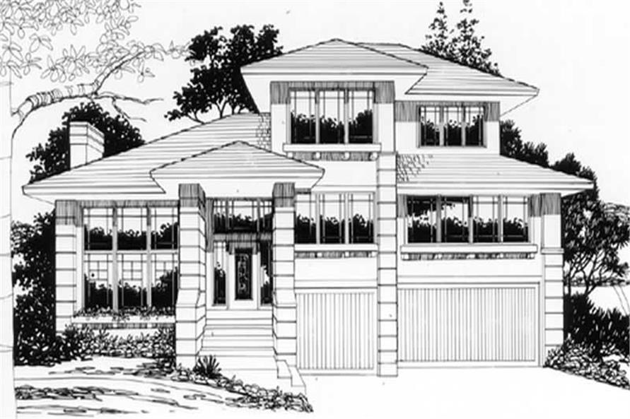 Main image for house plan # 2610