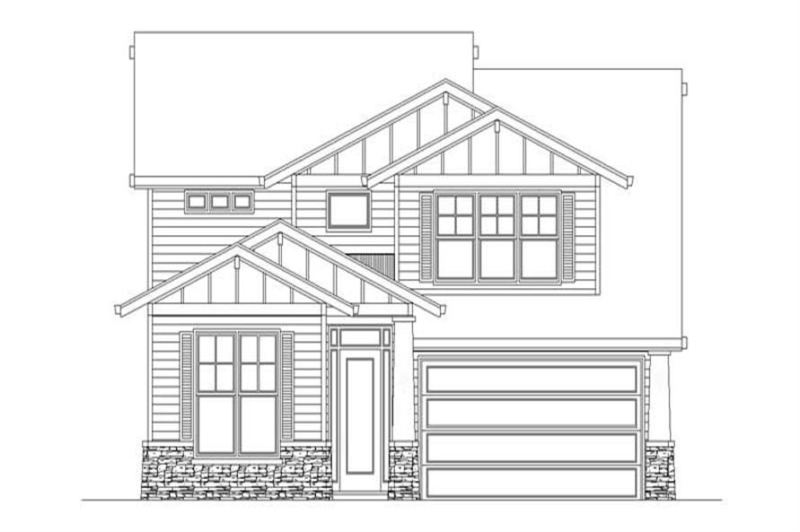Main image for house plan # 2606