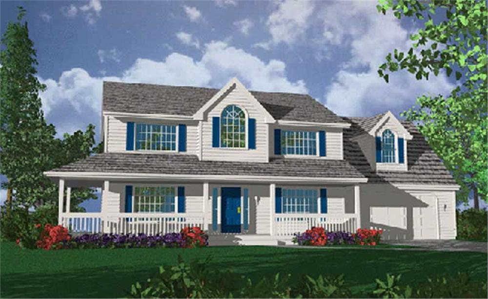 Main image for house plan # 2593