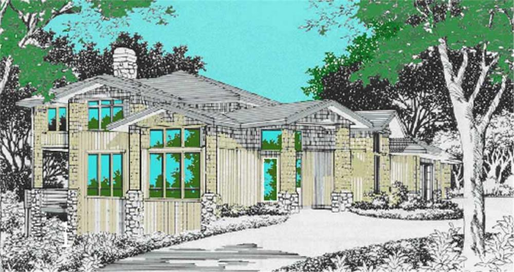 Main image for house plan # 2602