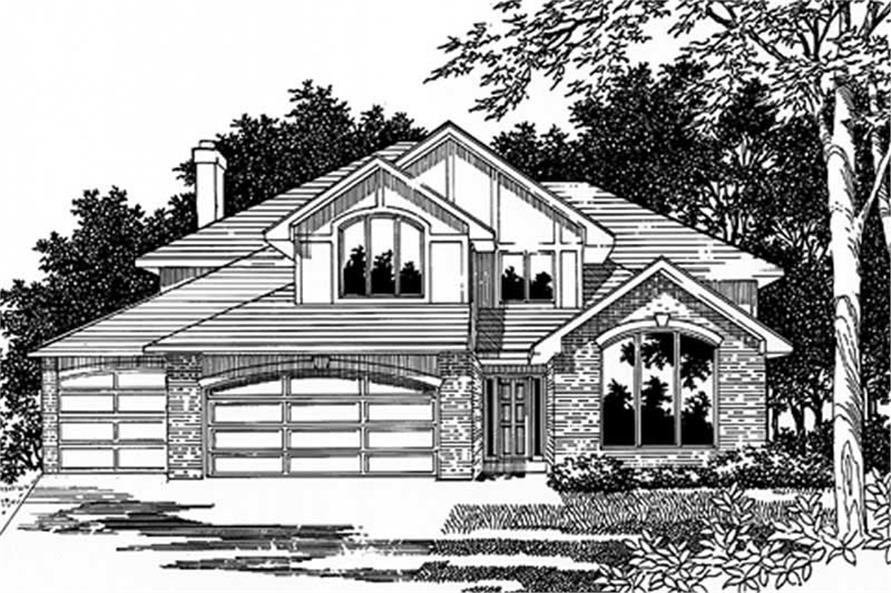 Main image for house plan # 2598