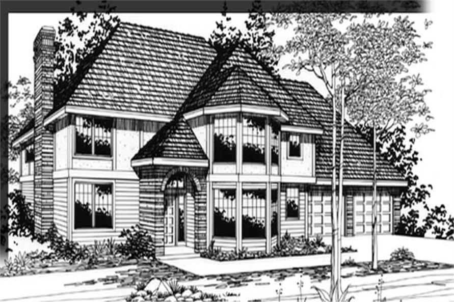 Main image for house plan # 2672