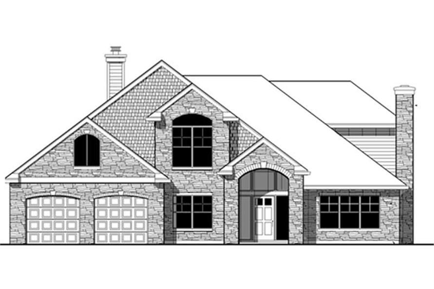 Main image for house plan # 2674