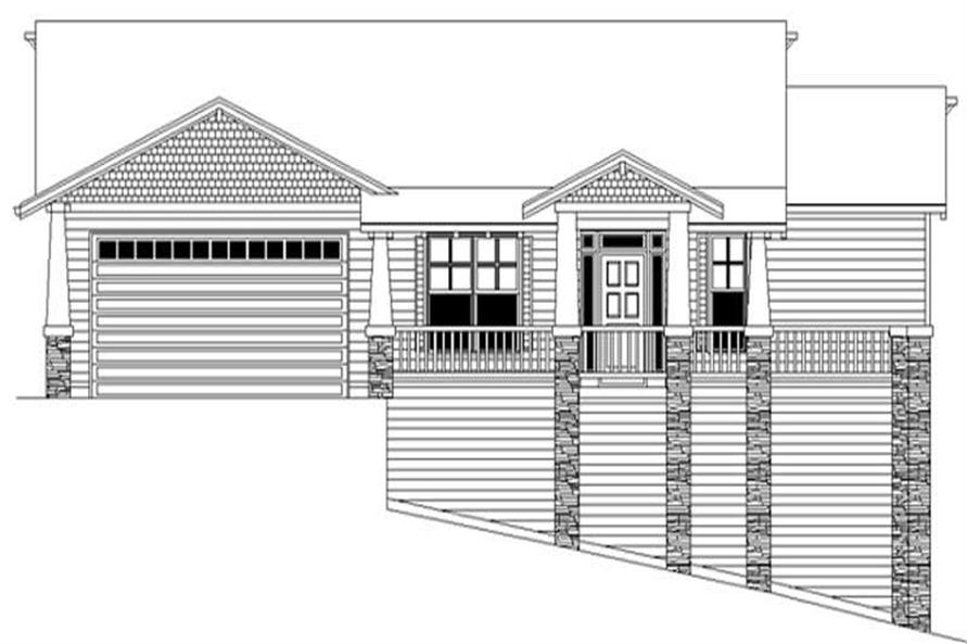 Main image for house plan # 2686