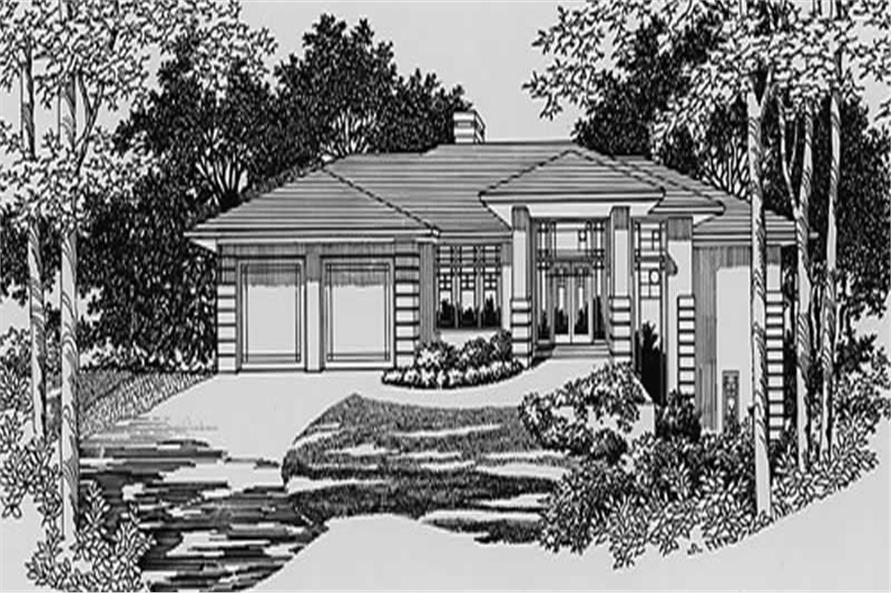 Home Plan Rendering of this 3-Bedroom,1817 Sq Ft Plan -149-1653