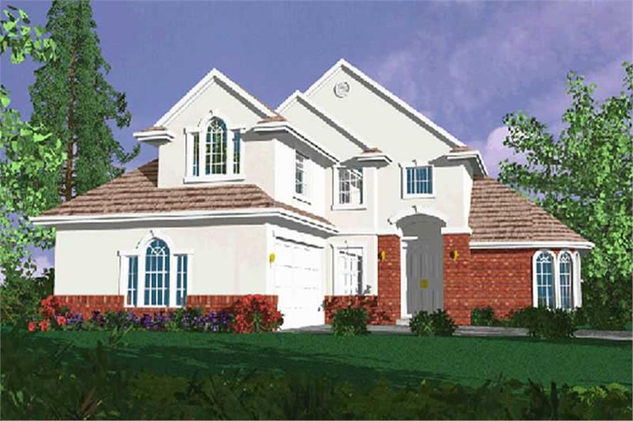Main image for house plan # 2679