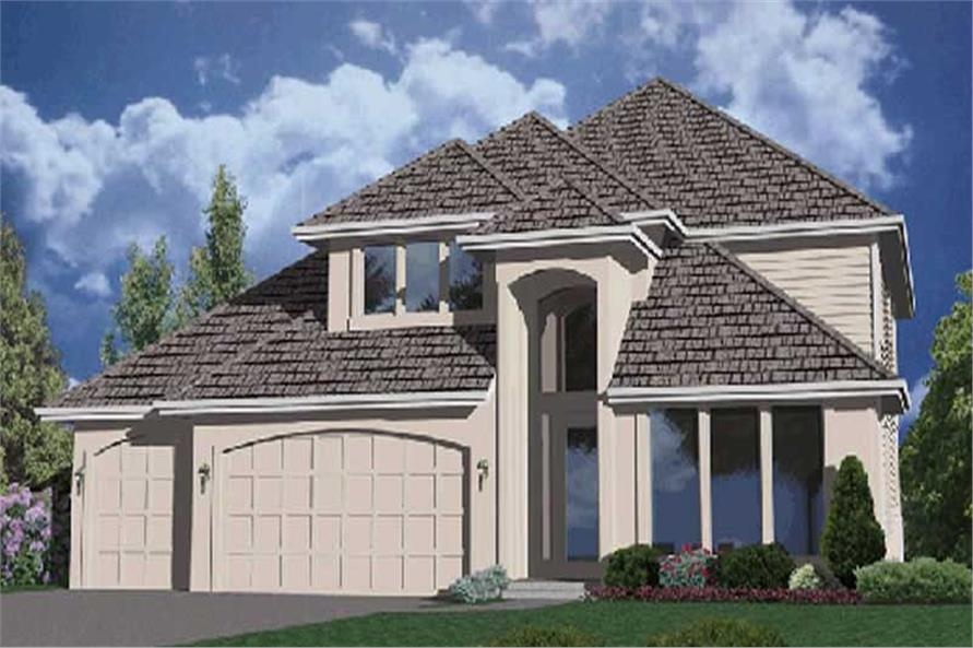 4-Bedroom, 2662 Sq Ft French House Plan - 149-1656 - Front Exterior
