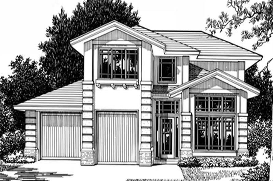 4-Bedroom, 2428 Sq Ft Craftsman House Plan - 149-1659 - Front Exterior