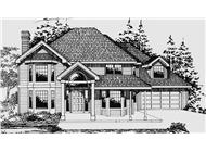 Main image for house plan # 2620