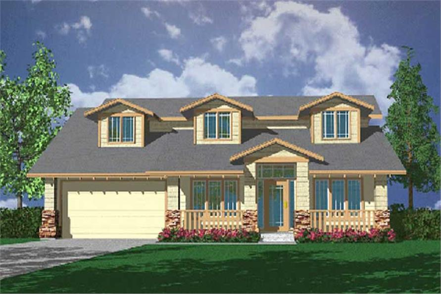3-Bedroom, 2352 Sq Ft Country Home Plan - 149-1662 - Main Exterior