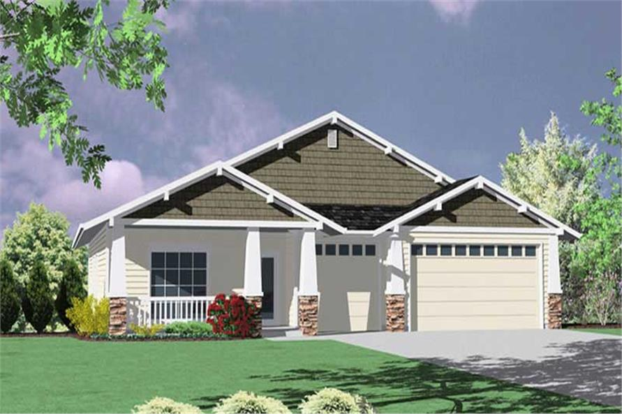 4-Bedroom, 2380 Sq Ft Country Home Plan - 149-1669 - Main Exterior