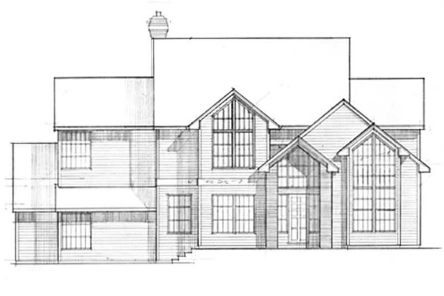Main Elevation for ms2494
