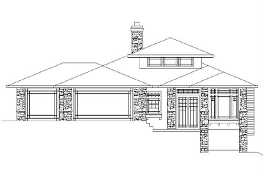 Home Plan Rendering of this 3-Bedroom,2529 Sq Ft Plan -149-1685