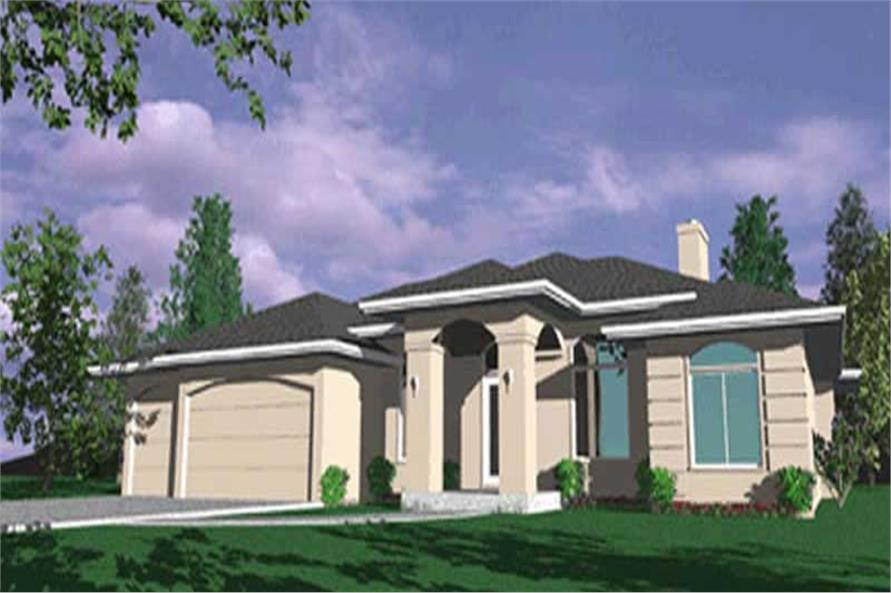 4-Bedroom, 2520 Sq Ft French House Plan - 149-1689 - Front Exterior