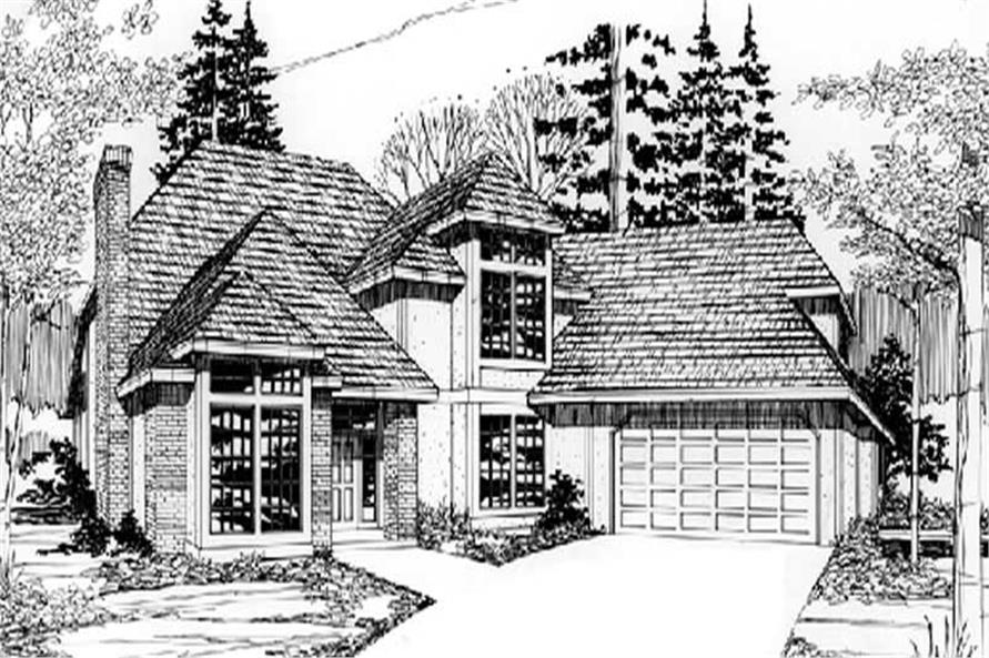 Main image for house plan # 2687