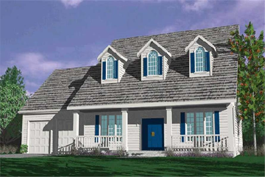 Main image for house plan # 2579
