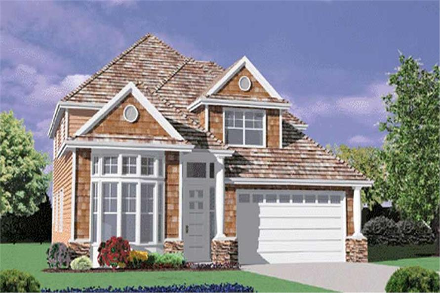 4-Bedroom, 2509 Sq Ft Craftsman House Plan - 149-1699 - Front Exterior
