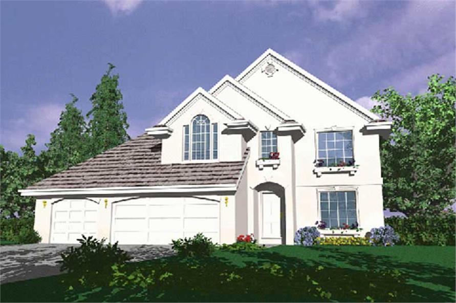 Main image for house plan # 2648