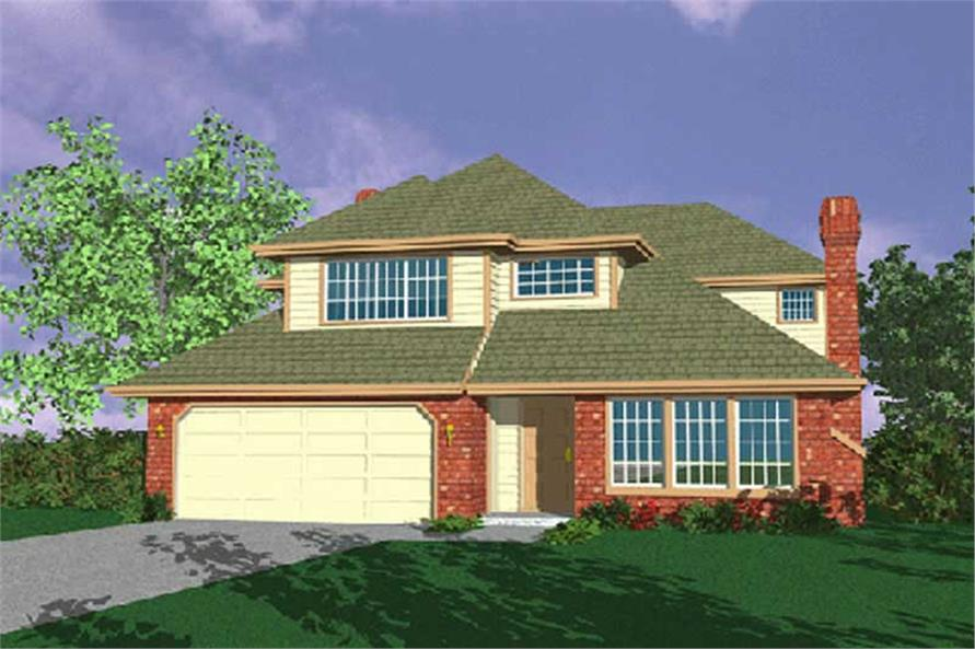 Main image for house plan # 2653